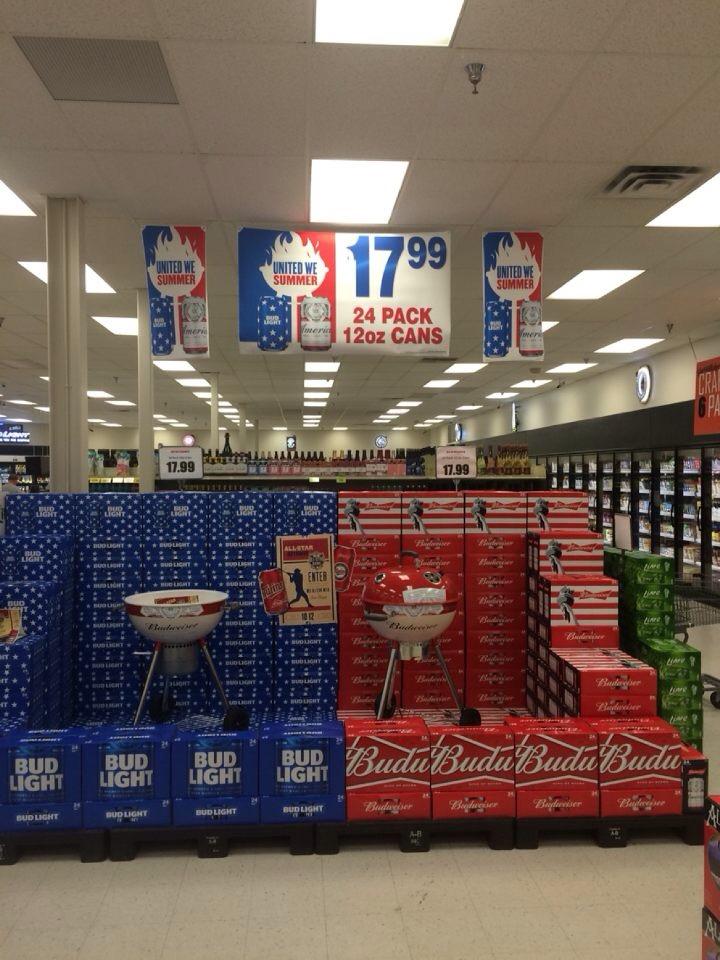Beer Sales Display Gallery Thorpe Distributing