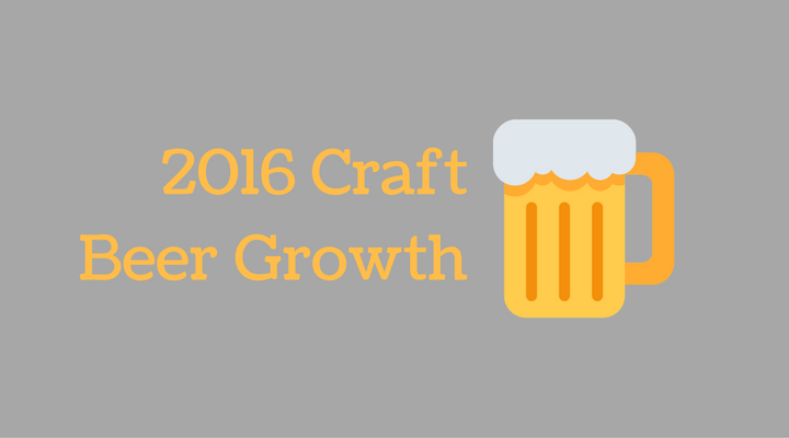 Percentage Of Beer Sales That Are Craft