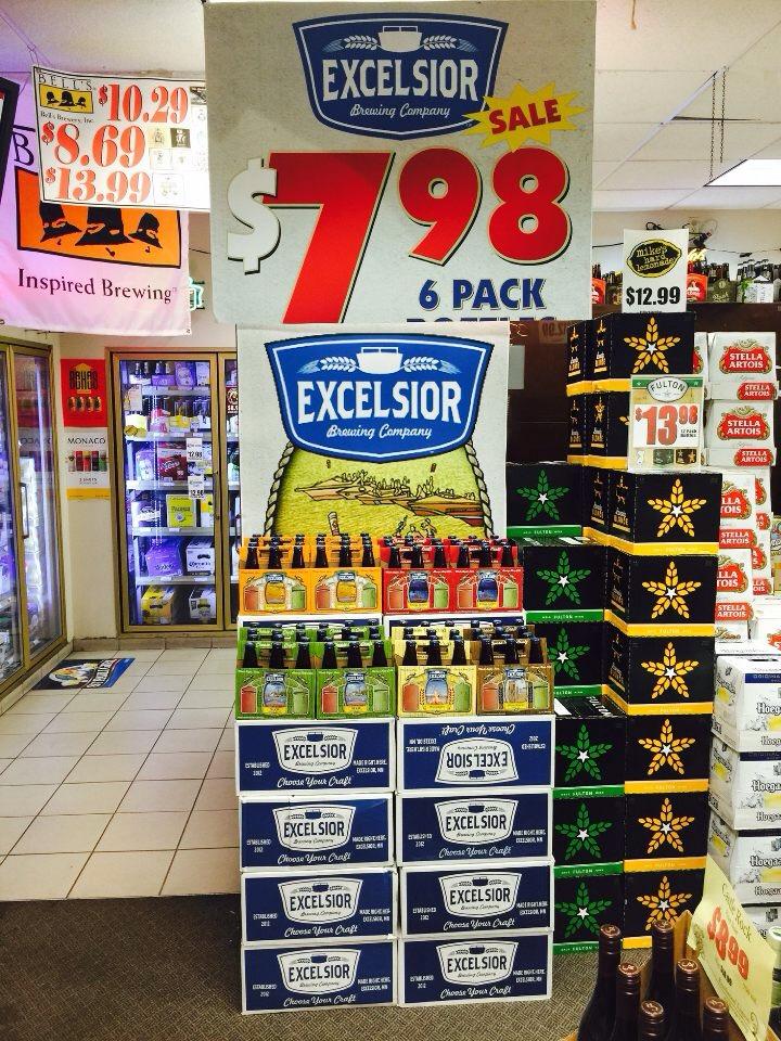 beer display pictures